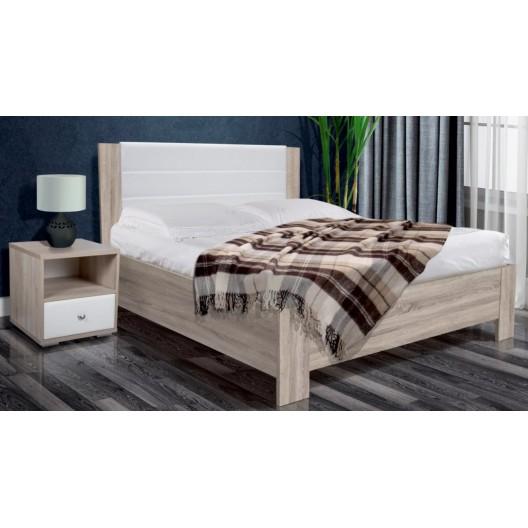 """Кровать """"Болеро"""" с мягким изголовьем и ортопедическим основанием"""