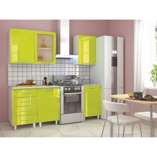 """Кухонный гарнитур """"Танго"""" (Лайм, 1.5 м)"""